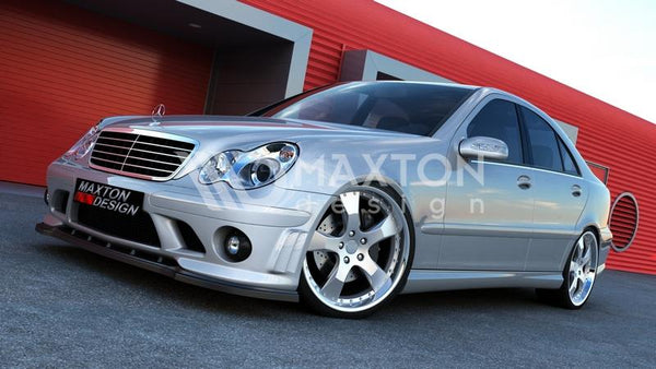 Mercedes - C-Class - W203 - Front Splitter - For ME-C-203-AMG204-F1 Bumper