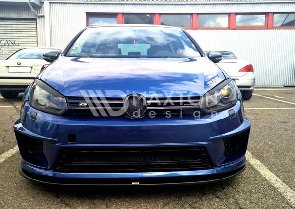 Volkswagen - MK6 Golf - Front Splitter - For R400 Bumper