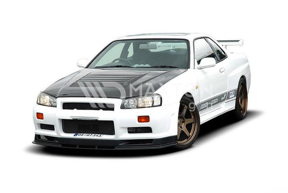 Nissan - Skyline R34 GTR - Front Splitter - (For 2299 Bumper)