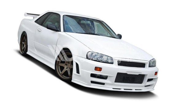 Nissan - Skyline R34 GTR - Z Type - Front Wide Arches