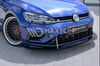 Volkswagen - MK7.5 Golf R - Facelift - Hybrid Front Racing Splitter