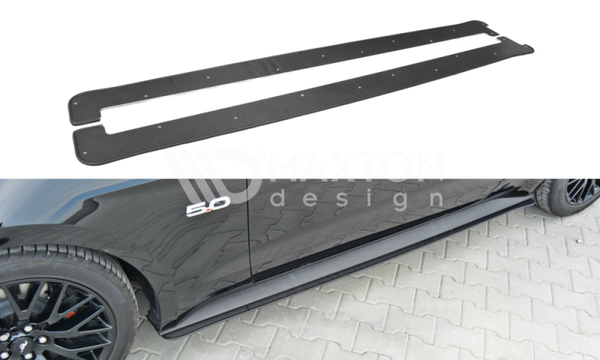 Ford Mustang - MK6 GT - Racing Side Skirts Diffusers