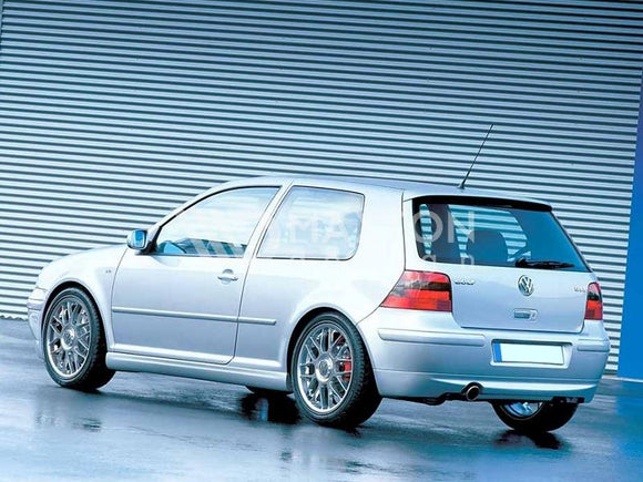 Volkswagen - MK4 Golf - Rear Bumper Extension - 25TH ANNIVERSARY LOOK - (with one exhaust hole)