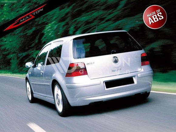 Volkswagen - MK4 Golf - Rear Bumper Extension - 25'TH ANNIVERSARY LOOK (without exhaust hole)