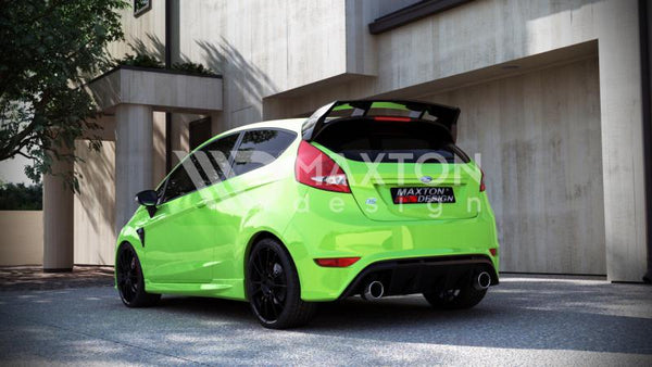 Ford Fiesta - MK7 - Focus - RS Look - Rear Bumper