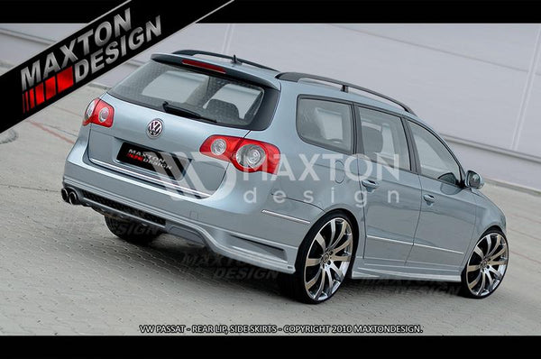 Volkswagen - Passat B6 3C - Wagon - Rear Bumper Extension