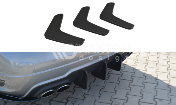Mercedes - C-Class - W204 - Rear Diffuser - V1 - Facelift