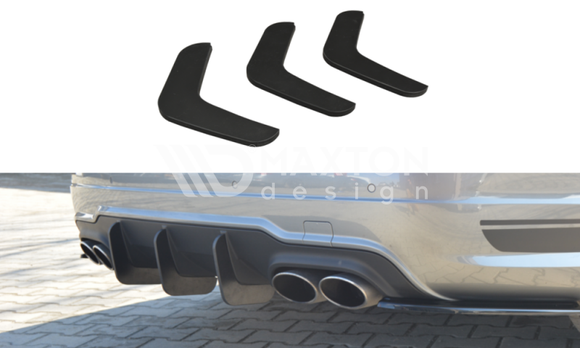 Mercedes - C-Class - W204 - Rear Diffuser - V2 - Facelift