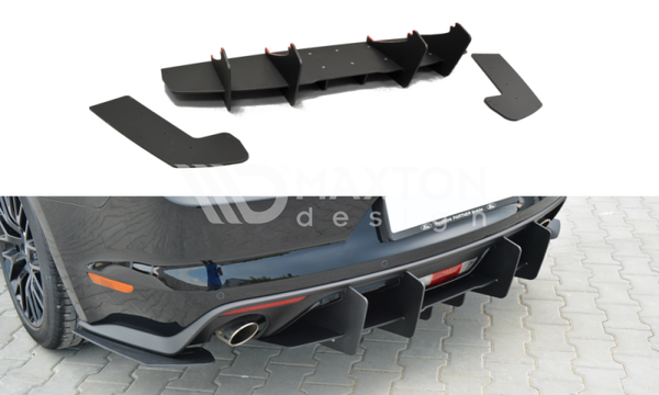 Ford Mustang GT - MK6 - Rear Diffusers