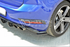 Volkswagen - MK7.5 Golf R - Facelift - Rear Side Splitters