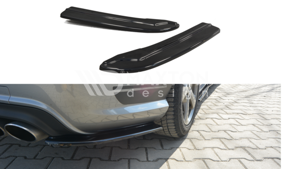 Mercedes - C-Class - W204 - Rear Side Splitters - Facelift