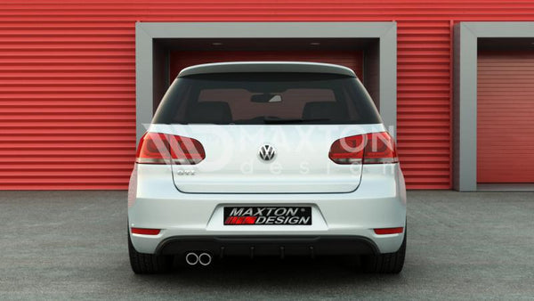 Volkswagen - MK6 Golf GTI - Rear Valance - 1 Exhaust