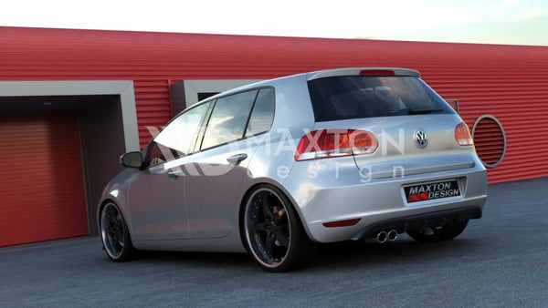 Volkswagen - MK6 Golf - Rear Valance - With 1 Exhaust Holes