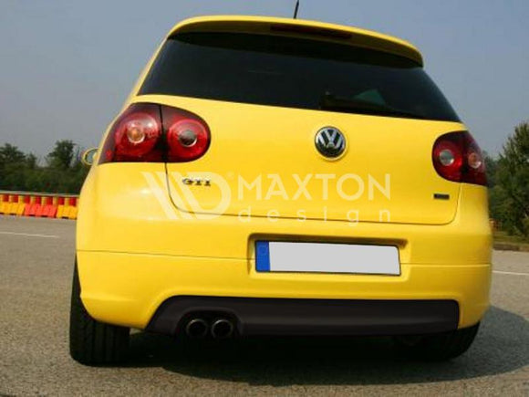 Volkswagen - MK5 Golf GTI - Rear Valance - With 1 Exhaust Holes - For GTI Exhaust