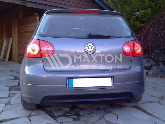 Volkswagen - MK5 Golf GTI - Rear Valance - Without Exhaust Holes - For Standard Exhaust