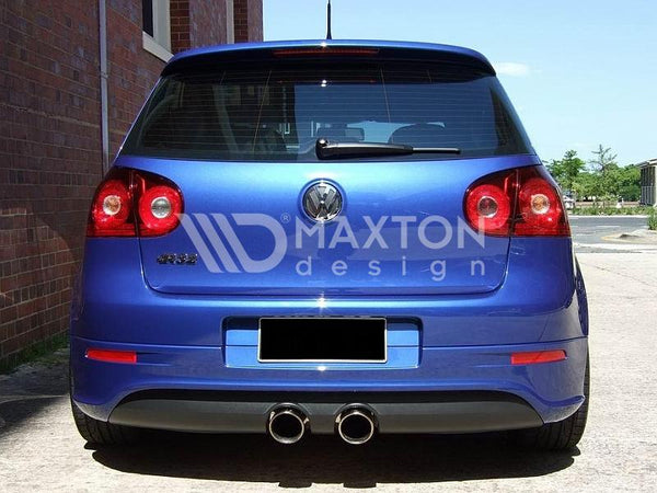 Volkswagen - MK5 Golf R32 - Rear Valance - With 2 Exhaust Holes - For R32 Exhaust