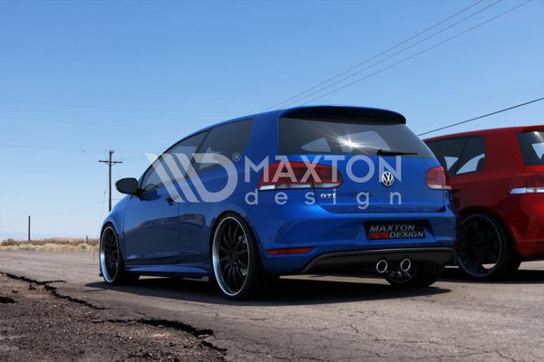 Volkswagen - MK6 Golf GTI - Rear Valance - R32 Look - Look for VW Golf VI GTI