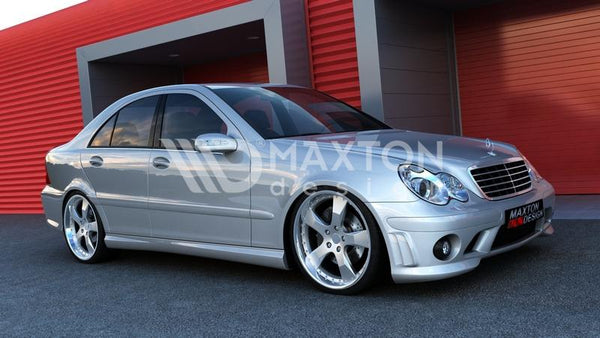 Mercedes - C-Class - W203 - Side Skirts - AMG204 Look