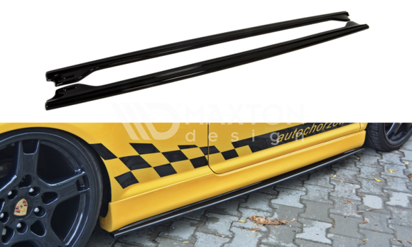 Volkswagen - MK4 Golf R32 - Side Skirts Diffusers