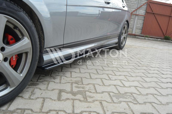 Mercedes - C-Class - W204 - Side Skirts Diffusers - Preface