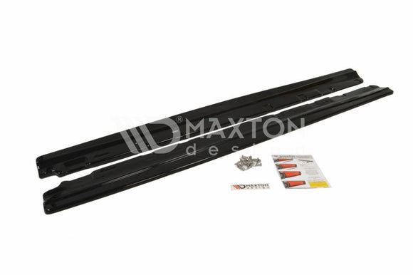 Mercedes - C-Class - W204 - Side Skirts Diffusers - Facelift