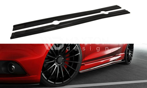 Ford Fiesta - MK7 ST / Zetec S Look - Facelift - Side Skirts Diffusers