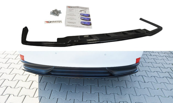 LEXUS - IS - MK3 H - CENTRAL REAR SPLITTER (without vertical bars)