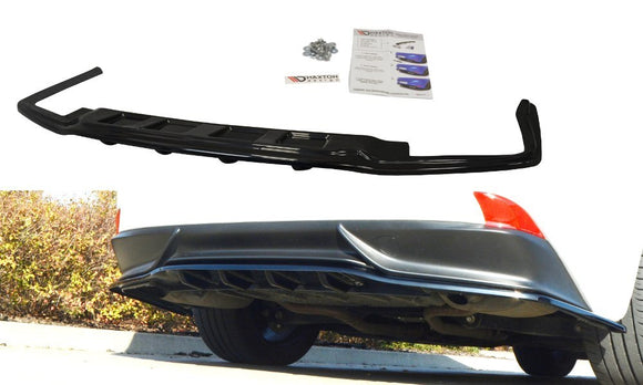 LEXUS - IS - MK3 H - CENTRAL REAR SPLITTER (with vertical bars)
