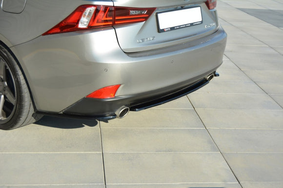 LEXUS - IS - MK3 T - CENTRAL REAR SPLITTER (without vertical bars)