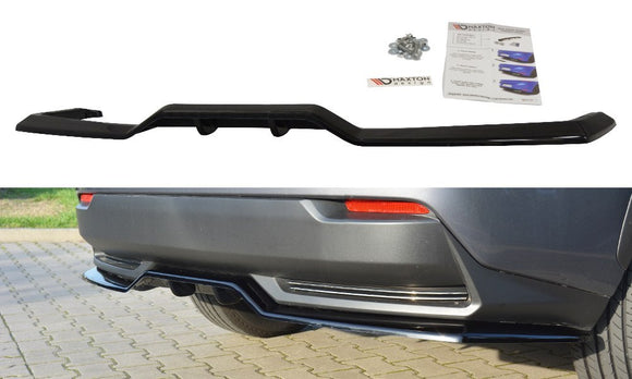 LEXUS - NX - MK1 H - CENTRAL REAR SPLITTER (with vertical bars)