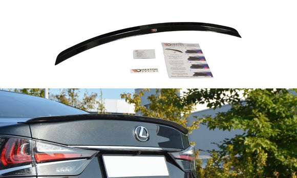 LEXUS - GS - MK4 - FACELIFT - Rear Spoiler Extension - T