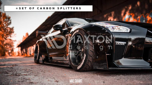 Nissan - GTR MK4 - Wide Body + Set of Carbon Spitters