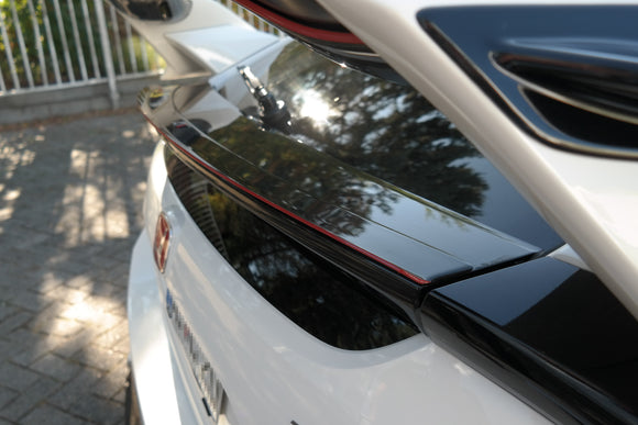 Honda - Civic X - Bottom Spoiler Cap - V3 - Type R