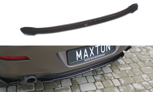 BMW - 6 Series - F06 - Central Rear Splitter