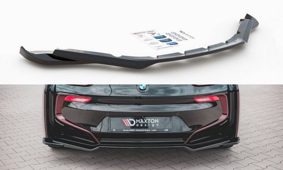BMW - i8 - Rear Central Splitters - V1