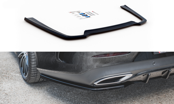Mercedes - CLS - AMG - LINE - W257- Central Rear Splitter