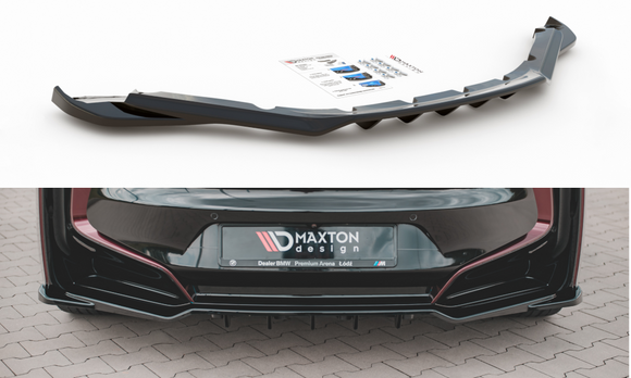 BMW - i8 - Rear Central Splitters with bars - V2