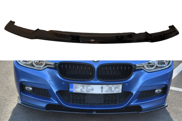 BMW - 3 SERIES - F30 FACELIFT - M-SPORT  - FRONT SPLITTER V1