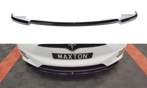 Tesla - Model X - Front Splitter - V1