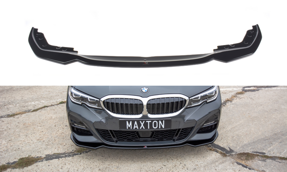 BMW - 3 SERIES - G20 - M-PACK - FRONT SPLITTER - V2