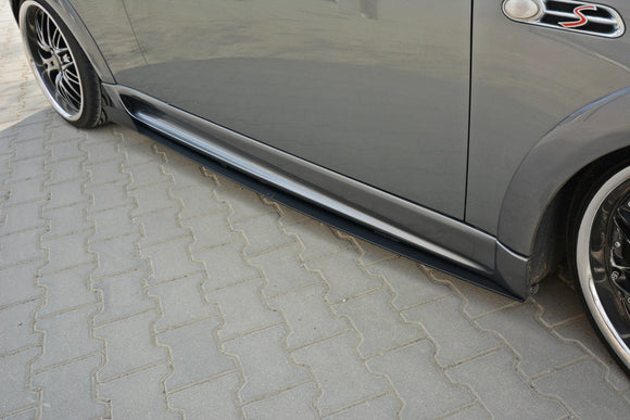 Mini - Cooper S - R53 - JCW - Racing Side Skirts Diffusers