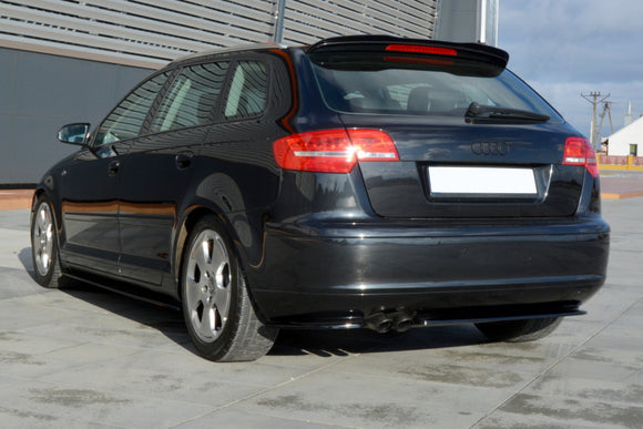 AUDI - A3 8P - S-Line - Rear Side Splitters
