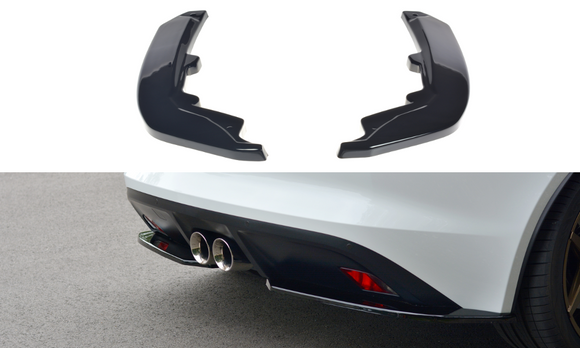 Jaguar - F-Type - Rear Side Splitters