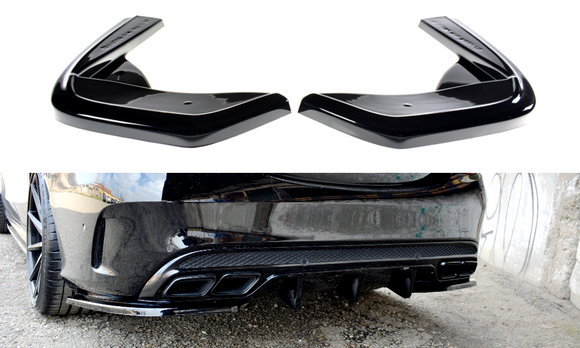 Mercedes - C-Class - C43 AMG - W205 - Rear Side Splitters