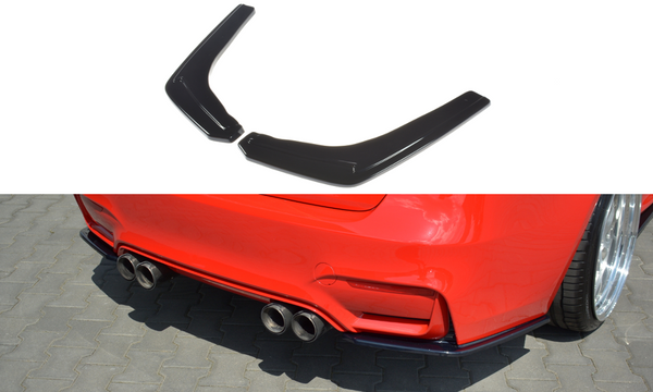 BMW - M3 - F80 - Rear Side Splitters - V1