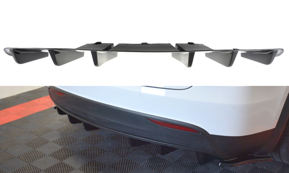 Tesla - Model X - Rear Valance