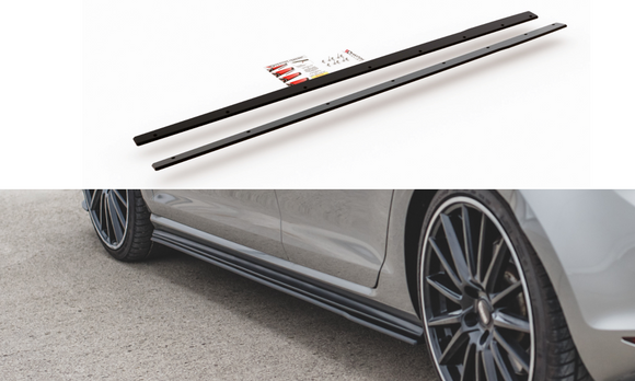Volkswagen - MK7 / MK7.5 Golf GTI -  Racing Durability Side Skirts Diffusers