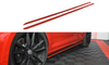 Volkswagen - MK7.5 Golf R - Facelift - Side Skirts Diffusers - V2
