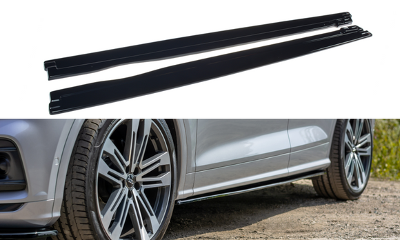 Audi - B9 - SQ5 / Q5 S-LINE - Side Skirts Diffusers