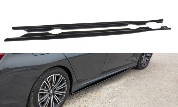 BMW - 3 SERIES - G20 - M-PACK - SIDE SKIRTS DIFFUSERS